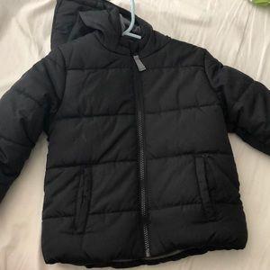 Toddler black puffer jacket
